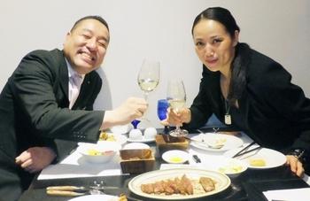 6年の歳月を感じさせない丹羽満さんと筆者.JPG